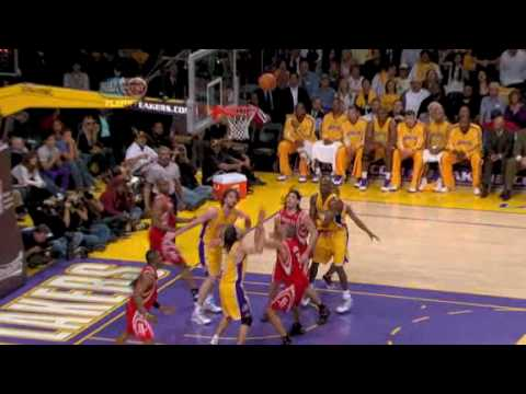 Shane Battier Injury from Sasha Vujacic (05/04/2009)