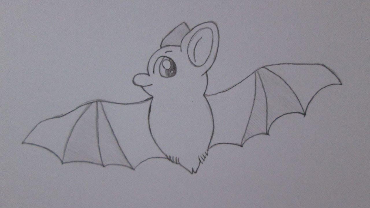 Famosos Como desenhar um morcego - YouTube HE56