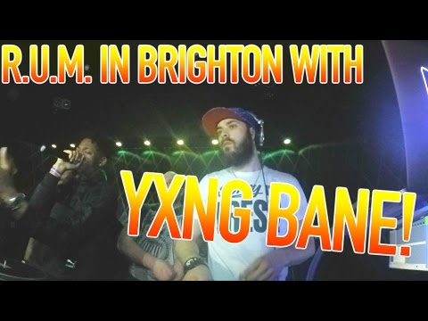 MENTAL DAY! Yxng Bane in Brighton, 2 interviews, a radio show, Link Up TV & 4000 miles!