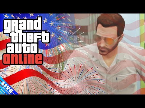AMERICA DAY! | GTA Online | PC