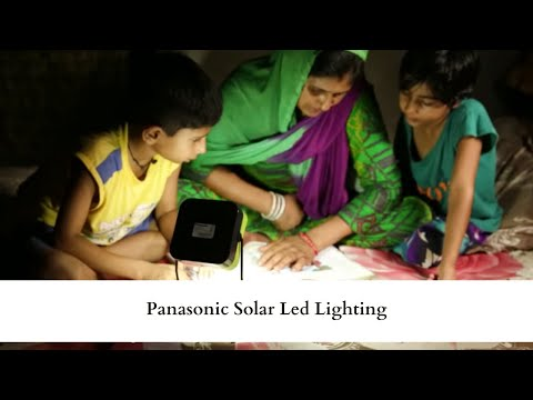 Panasonic Solar Led Lighting