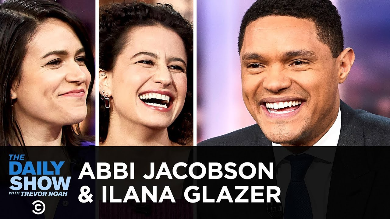 Download Abbi Jacobson & Ilana Glazer - Ending Broad City & Stacking Metaphorical Hats   The Daily Show