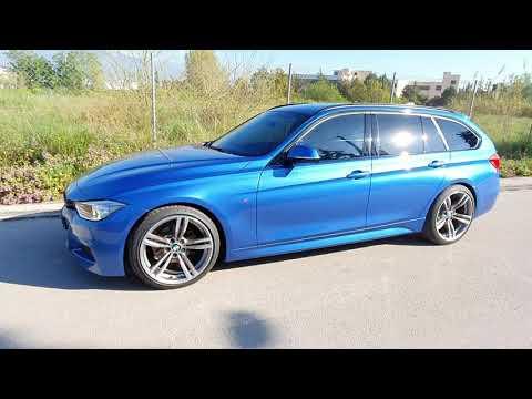 BMW F31 M Sport Estoril Blue Greece