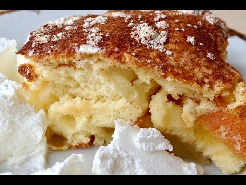 Яблочный Пирог (Шарлотка) Очень Быстро и Вкусно  (Apple Pie, English Subtitles)