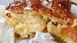 видео Самый легкий пирог с яблоками - 8 рецептов приготовления в духовке или мультиварке