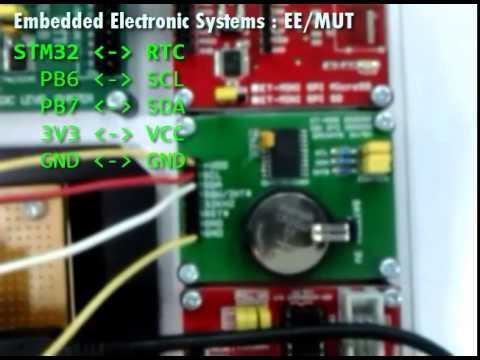 STM32 + RTC + USART