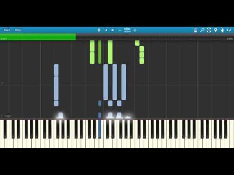 Take Me Higher Midi Synthesia (Ultraman Tiga piano)