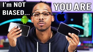 Android vs iOS vs Samsung | Am I Biased or Are YOU Biased CJ TalksTECH