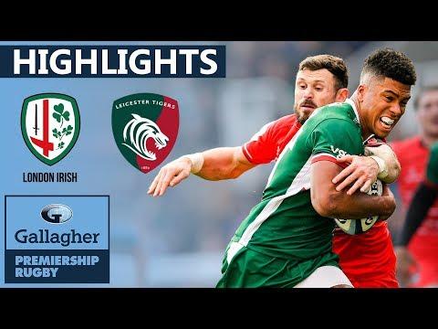 London Irish V Leicester HIGHLIGHTS | 47 Points In Thriller | Gallagher Premiership 2019/20