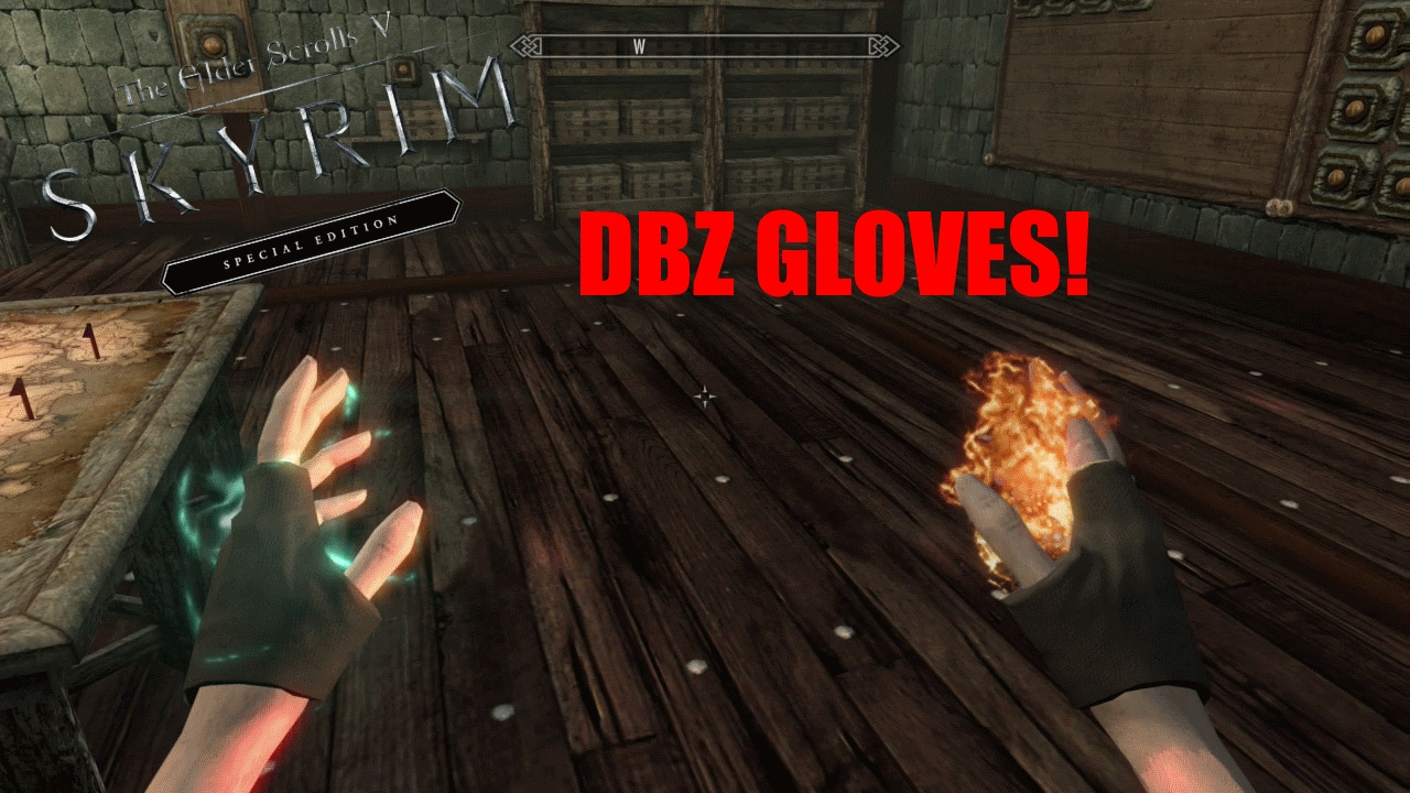 Skyrim SE Xbox One Mods|DBZ Gloves