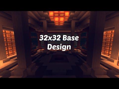 32x32 Factions Base Tour (Minecraft Faction Interior Design Ep 3)