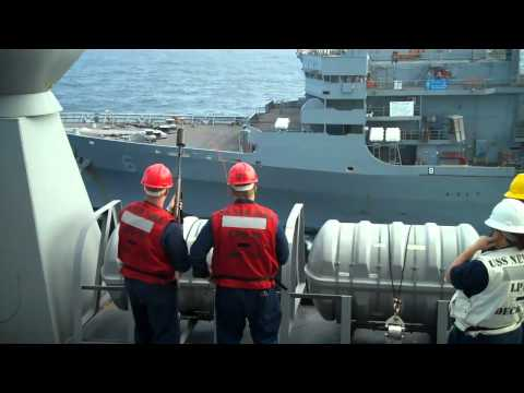 USS New York Underway Replenishment 1