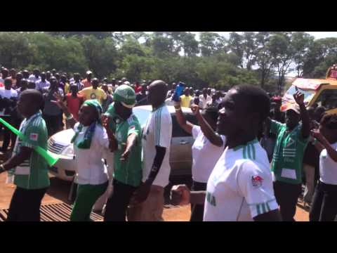 Gor Mahia Fans at  Jomo kenyatta grounds, Kisumu