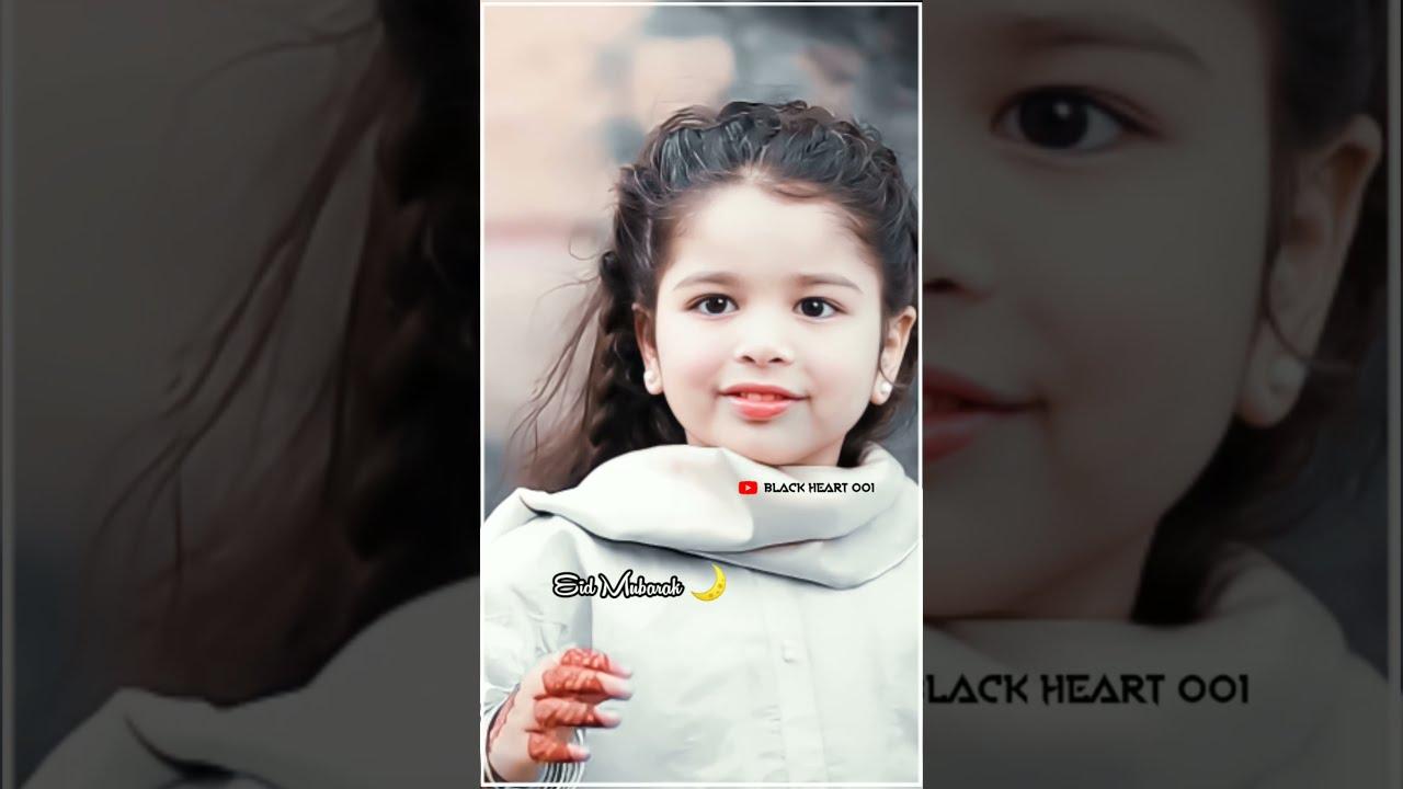 Download Pyare mama Pyare papa Eid mubarak 🌙🌙 | Aayat Arif | Beautiful😍💓 | Eid status | Black Heart 001