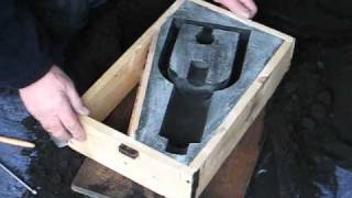 Metal Casting at Home Part 20. Hit & Miss Engine Cored Cylinder .