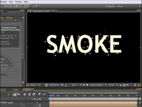 Creating Clouds Using Trapcode Particular   Adobe After Effects Tutorial