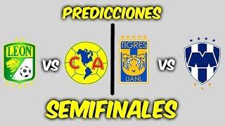 Mis PREDICCIONES para las SEMIFINALES de la LIGA MX torneo CLAUSURA 2019