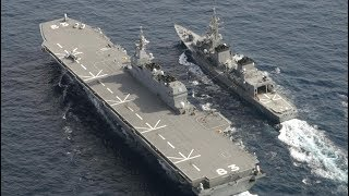 view(前編)「緊張の海」訓練へ向かう 海自護衛艦「いずも」同乗記 thumbnail