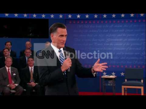 DEBATE:ROMNEY BUREAUCRATS WOMEN'S HEALTH CARE