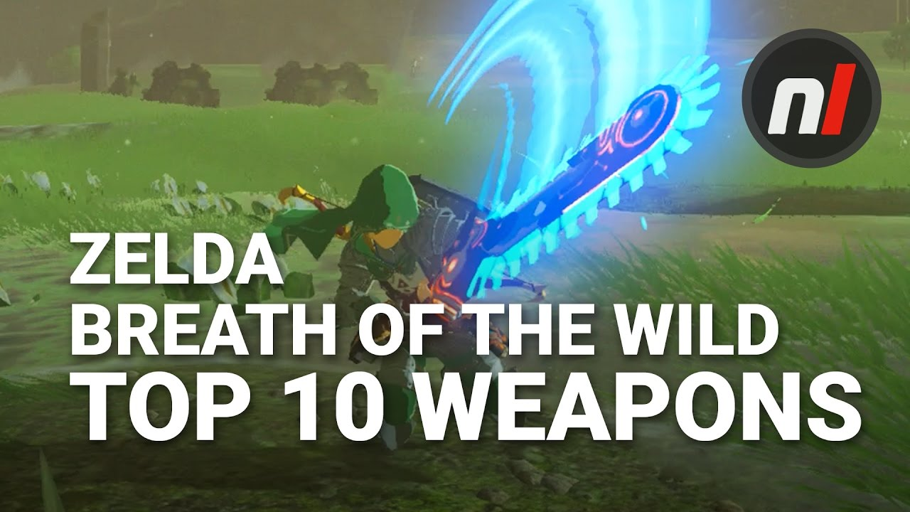 Zelda Breath of the Wild Weapons and Shields Guide | USgamer