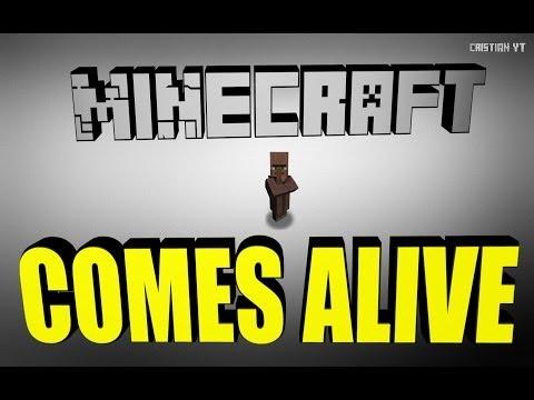 Descargar Comes Alive MOD Para Minecraft 1.7.2 !!!!!!![tutorial 2014][Como Instalar]