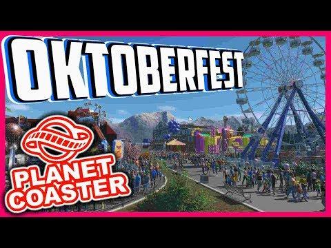Oktoberfest Wiesn - Planet Coaster | Livestream vom 17.09.17