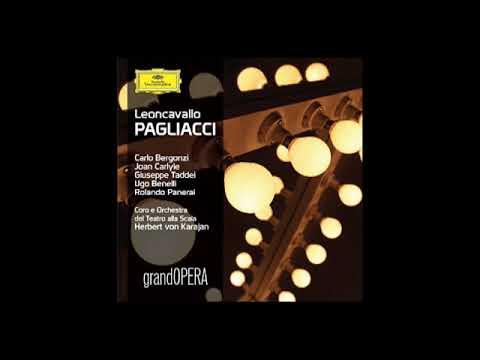 Pagliacci; Bergonzi, Carlyle, Taddei, Benelli, Panerai & Karajan; 1965