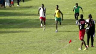 Relay Festival In Linden Guyana!t. Guyana's fastest Sprinter (Campton Cesar)