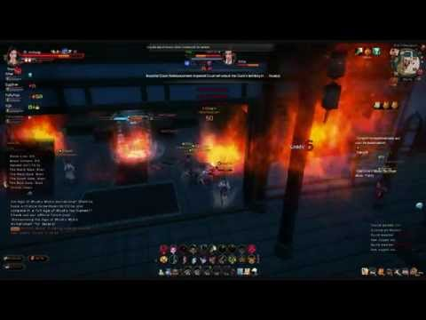 Age of Wushu PvP Guild War: Goons vs. Sanguine Moon