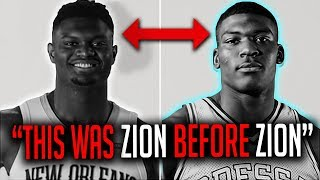 This Man Was Zion BEFORE Zion Williamson! THE ONLY COMPARISON!