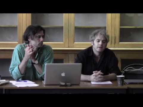 Andrés Claro, Critical Theory Workshop/Atelier de Théorie Critique, Paris 2015
