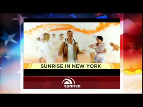 Channel Seven - Sunrise Opener - From New York (5/9/2014)
