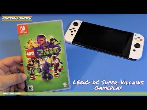 Nintendo Switch: Lego DC Super-Villains Gameplay