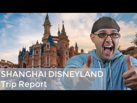 Disney Podcast - SHANGHAI DISNEYLAND TRIP REPORT - Dizney Coast to Coast - Ep. 519