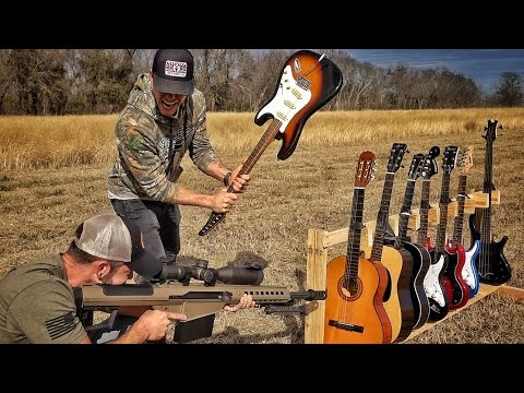 How Many Guitars Does It Take To Stop a 50BMG???