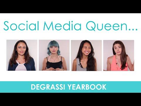 Degrassi Yearbook: Social Media Queen