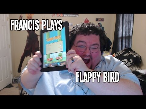 Francis Plays Flappy Bird