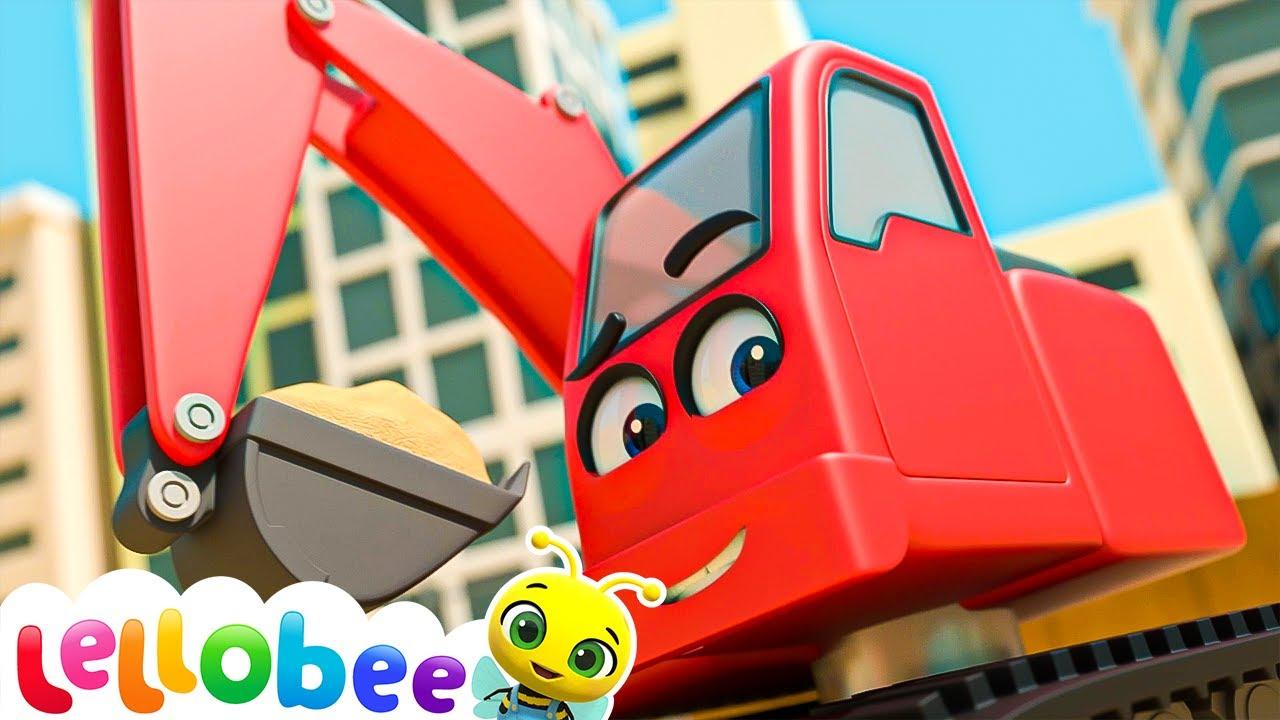 Building Site Song   Lellobee ABC Kids Nursery Rhymes & Kids Songs For Kids