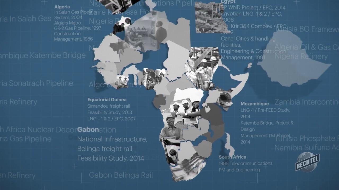 Bechtel Offices in Africa - Bechtel