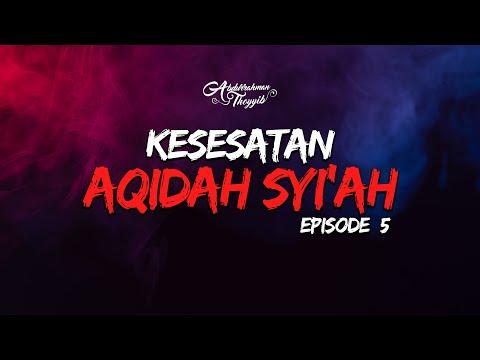 Kesesatan Aqidah Syiah (Eps. 05) : Tuduhan Dusta Bahwa Sahabat Menyelewengkan Al-Quran