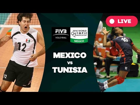 Mexico v Tunisia - 2016 Men's World Olympic Qualification Tournament