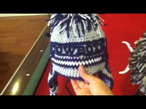 A Dallas Cowboy Beanie And Porcupine Crochet Youtube