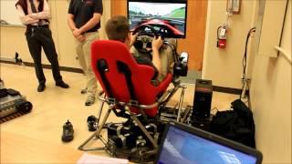 6DOF stewart platform motion simulator thumbnail