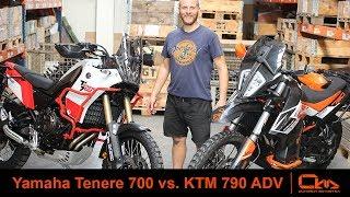 Yamaha Tenere 700 vs. KTM 790 ADV comparison by Outback Motortek