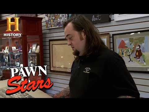 Pawn Stars: Renaissance Etching