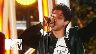 Tyler Posey Jams With All Time Low | 2015 MTV Fandom Awards