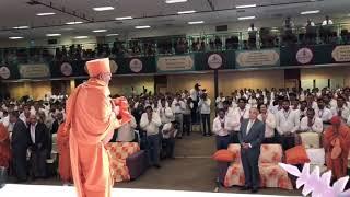 Swamiji entry @ uk gurubhakti mahotsav