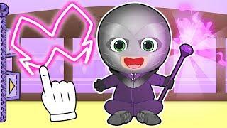 Download BEBE ALEX 🦋 Disfraz de villano malvado   Dibujos animados para niños y niñas Mp3 and Videos
