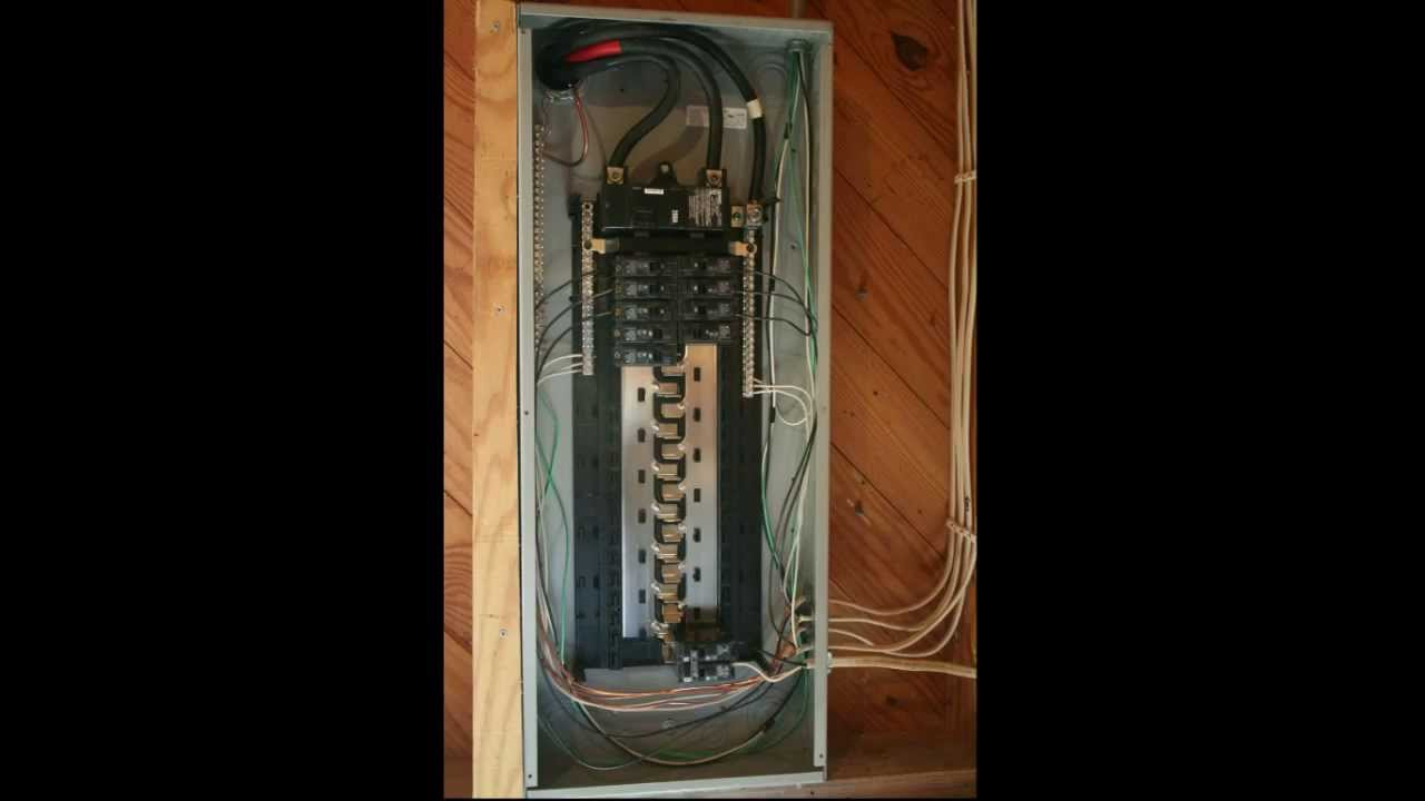 diy electrical wiring workshop electrical panel youtube. Black Bedroom Furniture Sets. Home Design Ideas