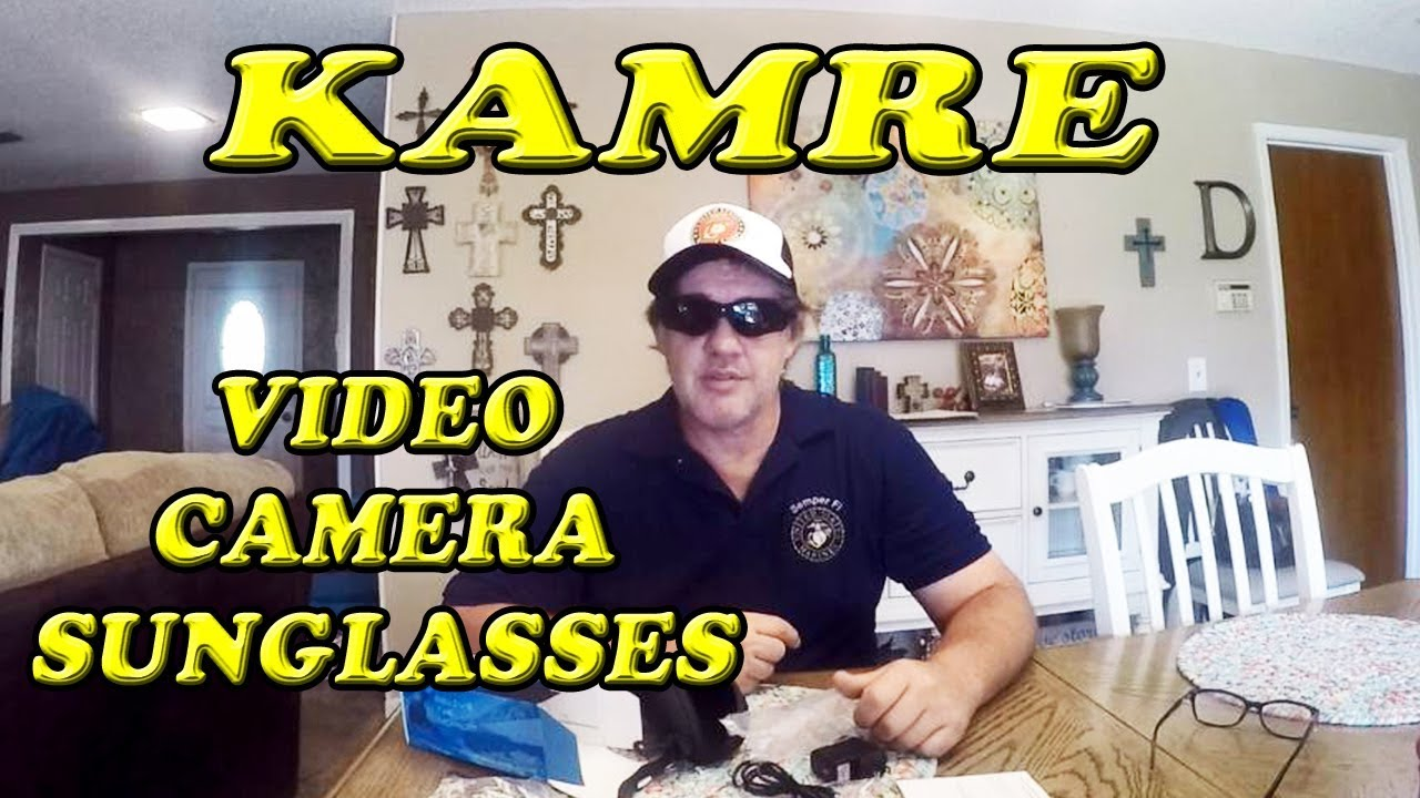 53ef72356e73 Kamre Camera Sunglasses Unboxing Demonstration and Review - YouTube